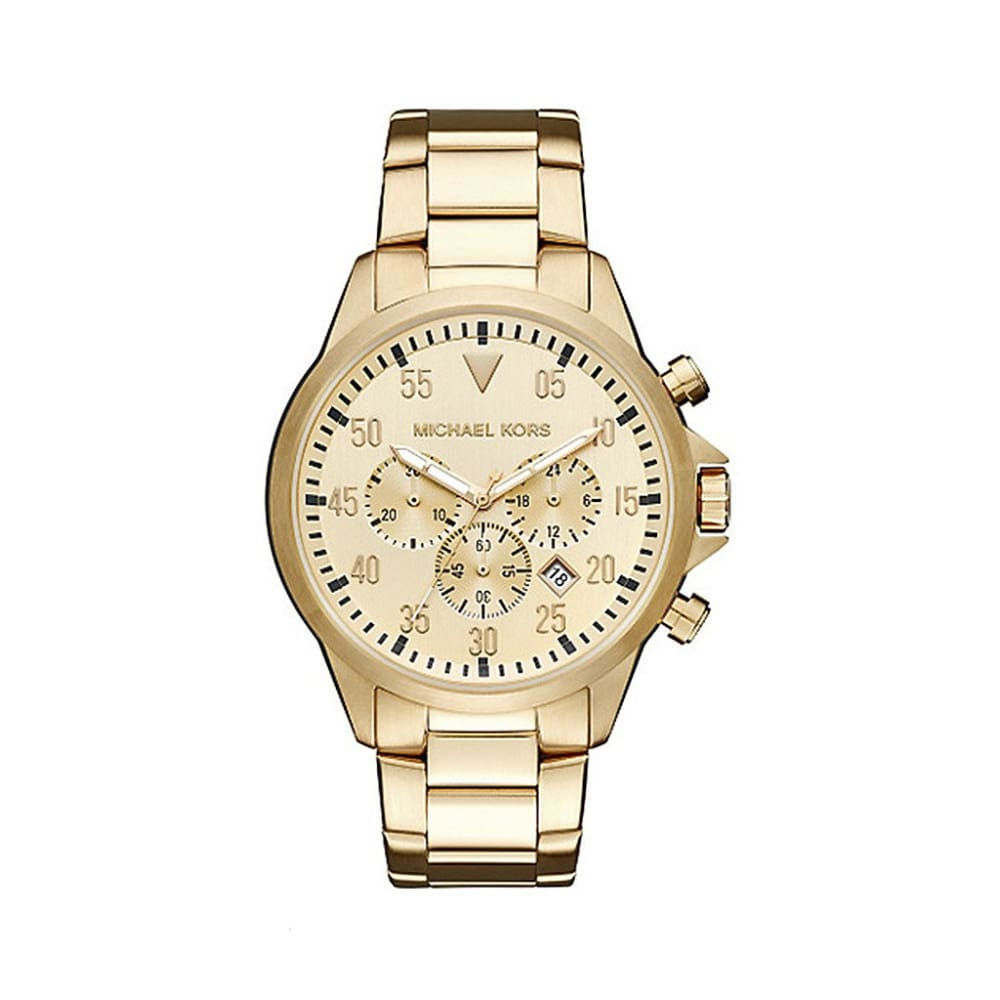 Michael Kors - Mk8491 - Yellow / Nosize - Accessories Watches