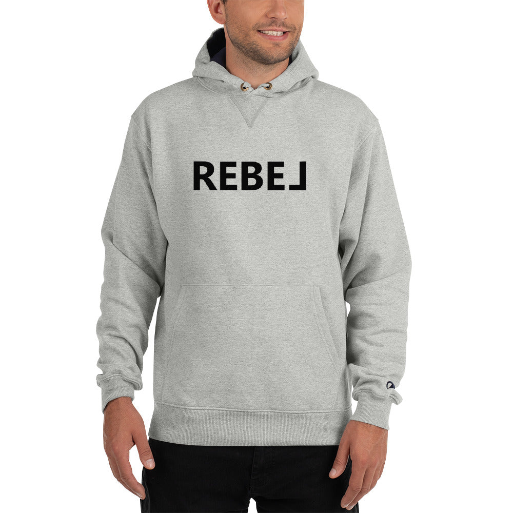 Champion Hoodie - Rebel Text