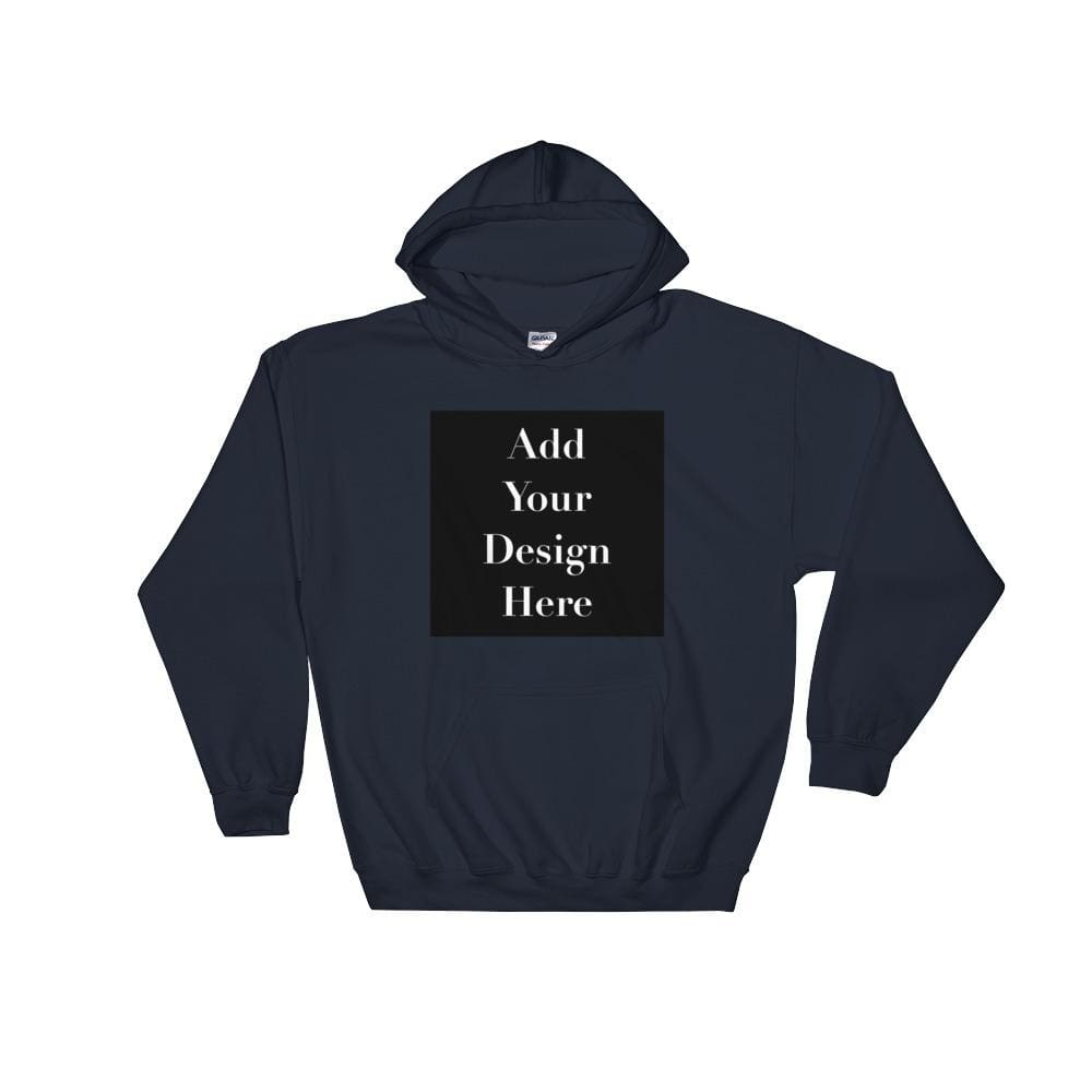Personalise Your Own Hooded Sweatshirt - Navy / S - Sweater