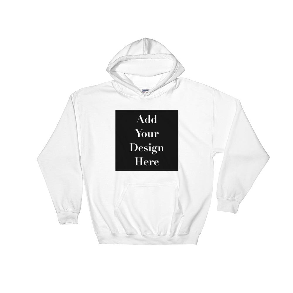Personalise Your Own Hooded Sweatshirt - White / S - Sweater