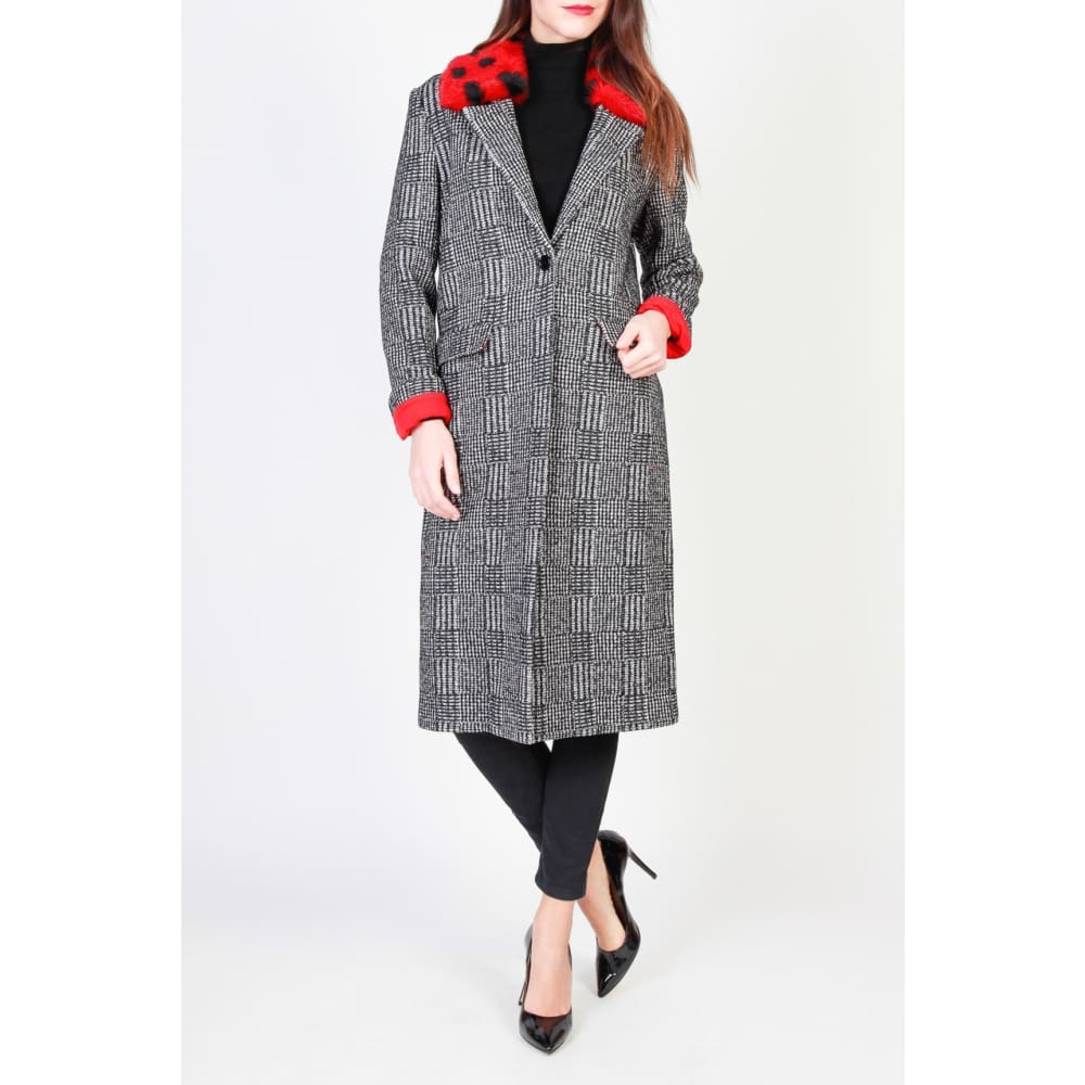 Pinko - 1G12Lx-6513 - Black / 38 - Clothing Coats