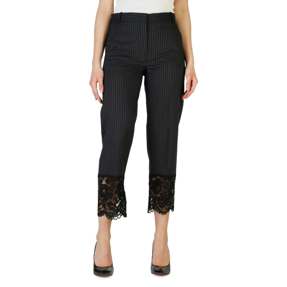 Pinko 3/4 Length Trousers - Black / 38 - Clothing Trousers