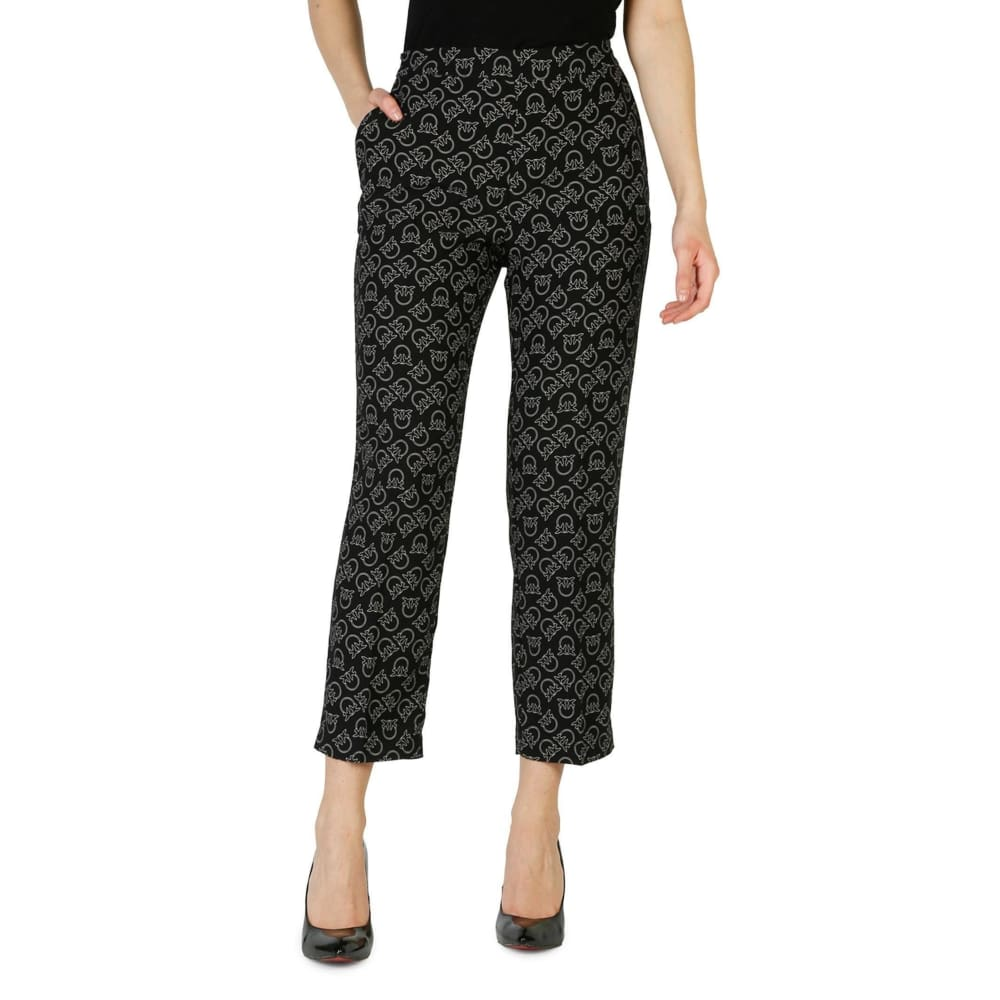 Pinko Adry - Black / 38 - Clothing Trousers