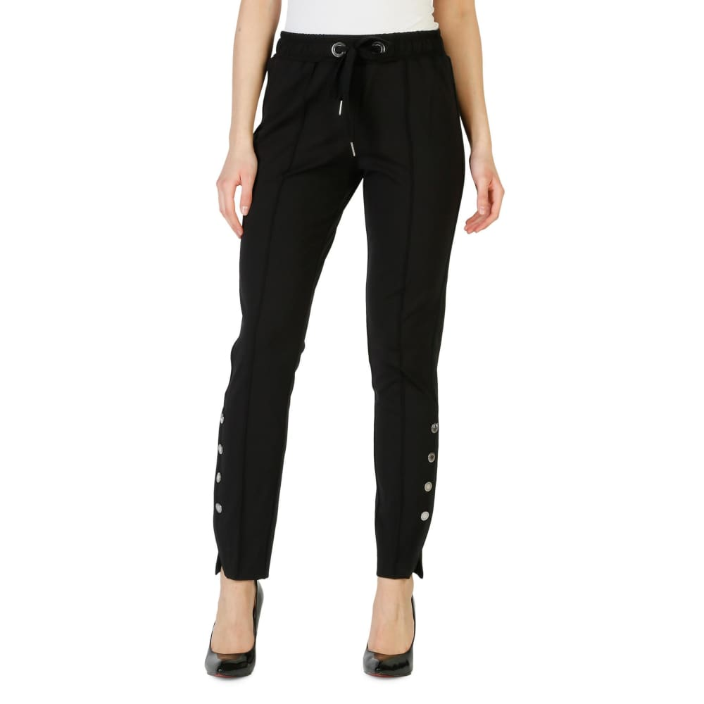 Pinko Carla - Black / 38 - Clothing Trousers