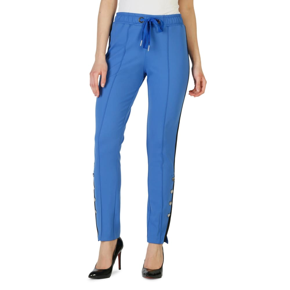 Pinko Carla - Blue / 38 - Clothing Trousers