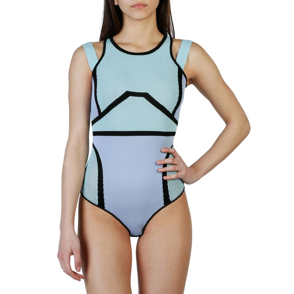 Pinko Flora - Blue / Xs - Clothing Bodysuits