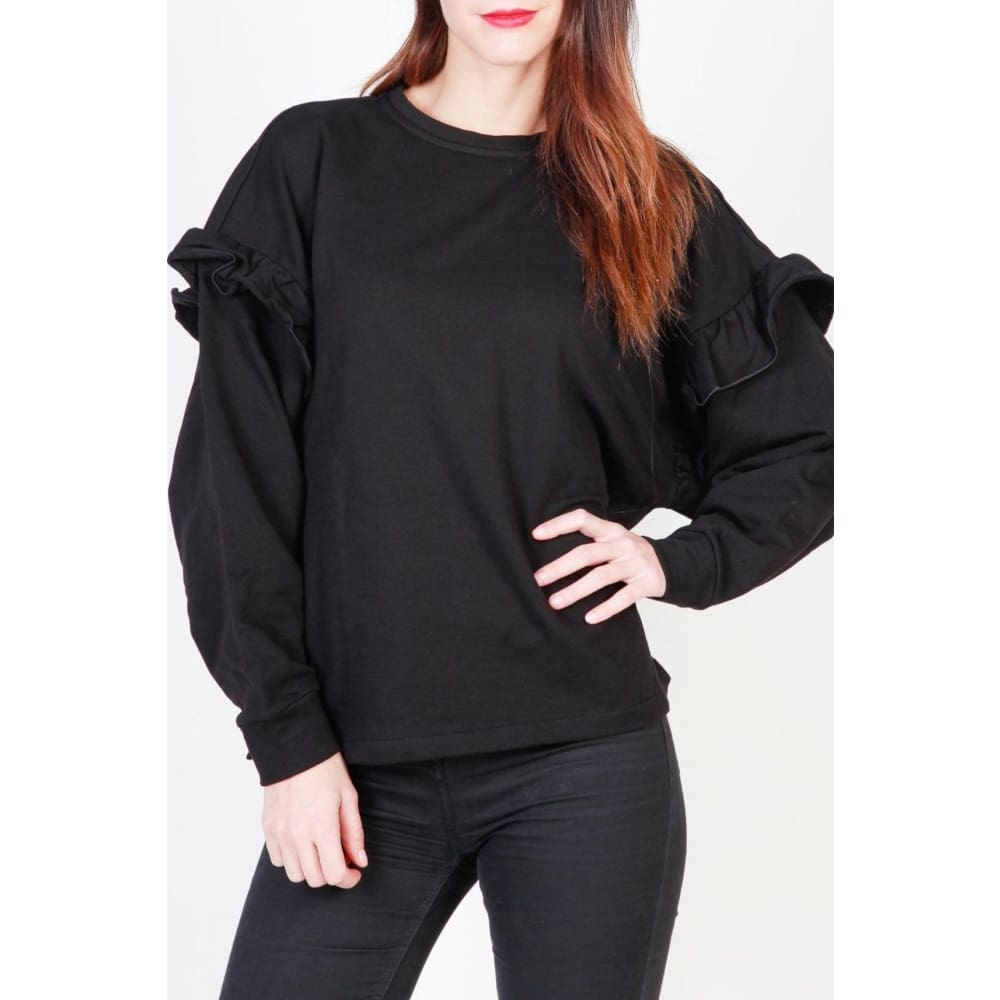 Pinko Jessica - Black / S - Clothing Sweatshirts