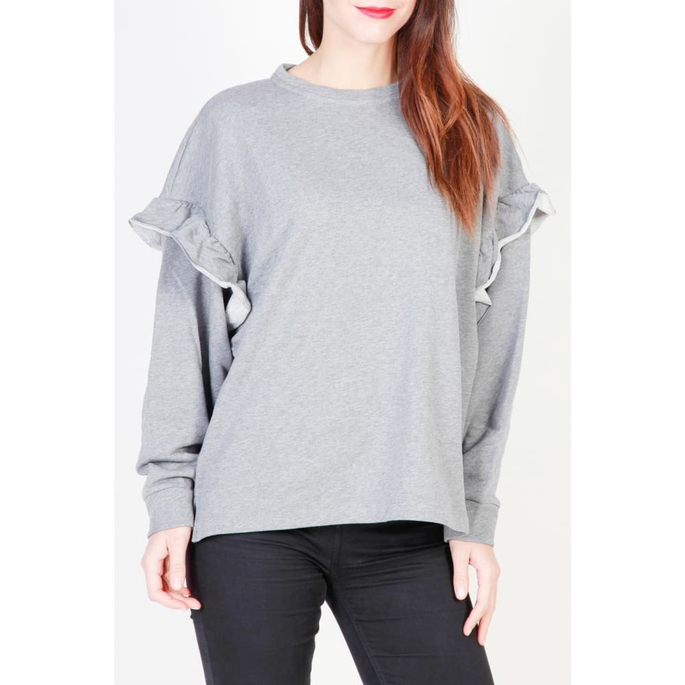 Pinko Jessica - Grey / S - Clothing Sweatshirts