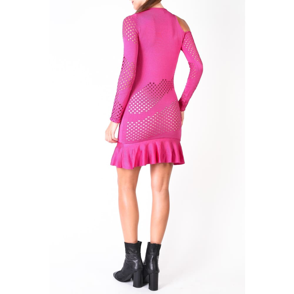 Pinko Pink Knit Dress - Clothing Dresses