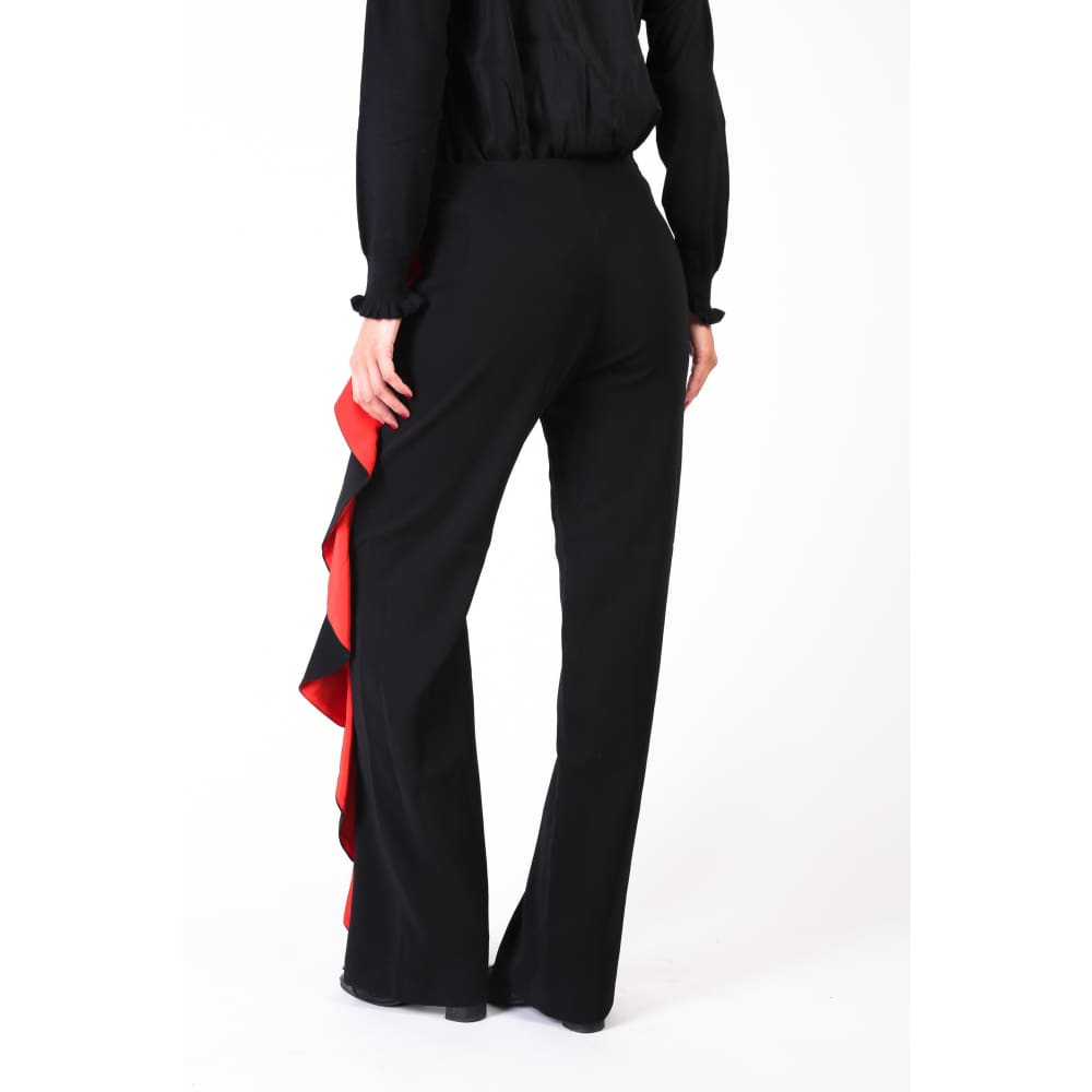 Pinko Red Seam Trousers - Clothing Trousers
