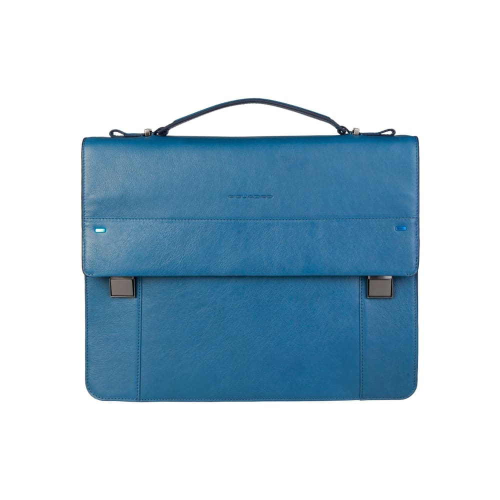 Piquadro Laptop Briefcase - Blue / Nosize - Bags Briefcases
