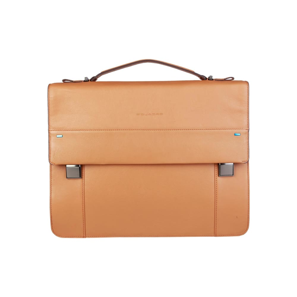 Piquadro Laptop Briefcase - Brown / Nosize - Bags Briefcases