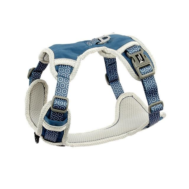 French Bulldog Nylon Harness - Blue Colour