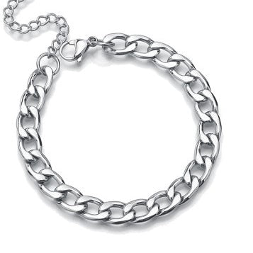 French Bulldog chain necklace, French bulldog silver chain collar