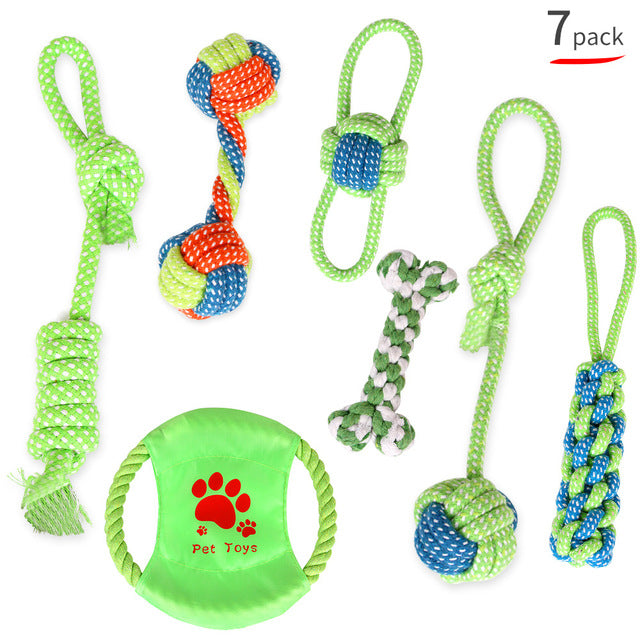 Puppy Starter Pack Selection Of Toys Gift Hamper - pack of 7
