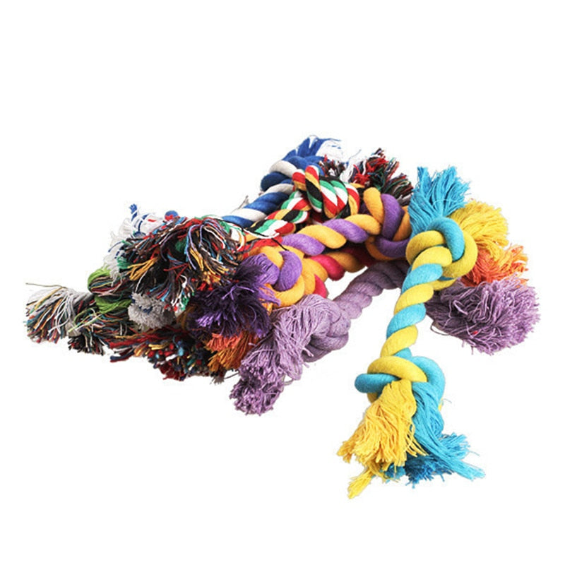 Dog Cotton Chewy Toy Rope