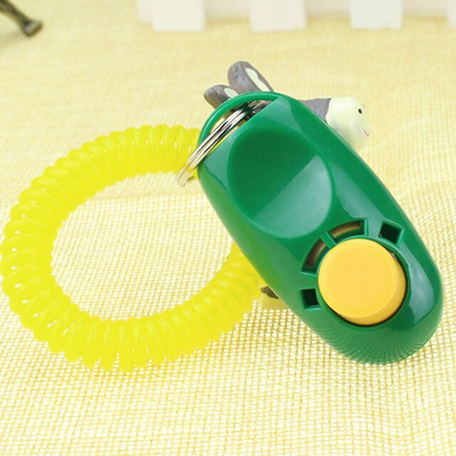 Green colour Dog training clicker, clickers for dog training