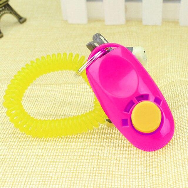 Pink colour Dog training clicker, clickers for dog training