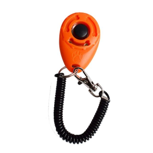 Dog clicker - orange colour