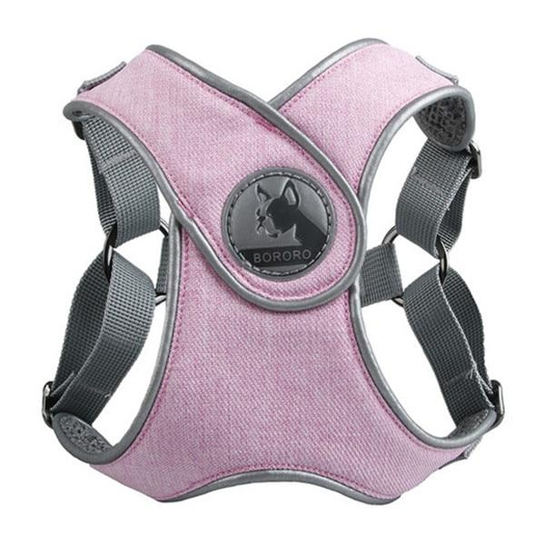 Pink French Bulldog No pull Harness