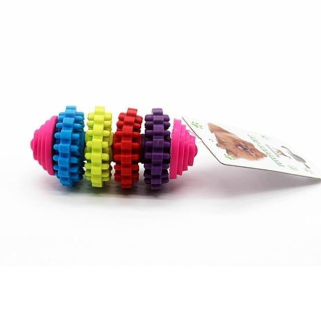 Rainbow Chewing Puppy Toy - B / As The Pic - Dog Toys