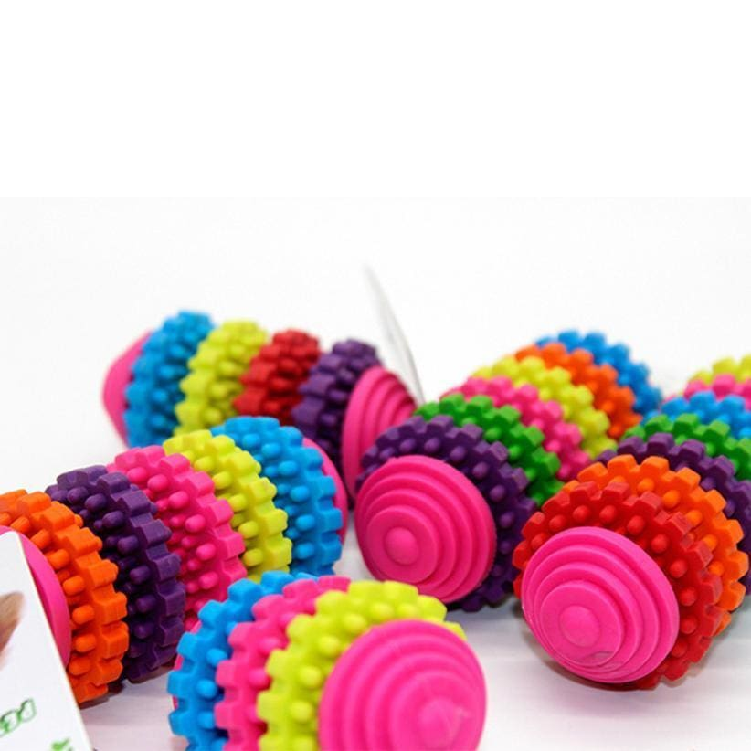 Rainbow Chewing Puppy Toy - Dog Toys