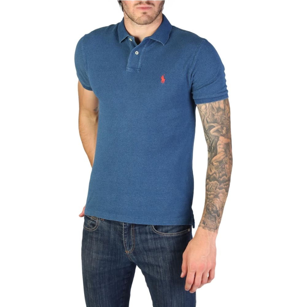 Ralph Lauren - 710651933042 - Clothing Polo - Blue-2 / S - Clothing Polo
