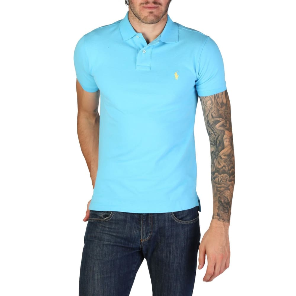 Ralph Lauren - 710651933042 - Clothing Polo - Blue / S - Clothing Polo