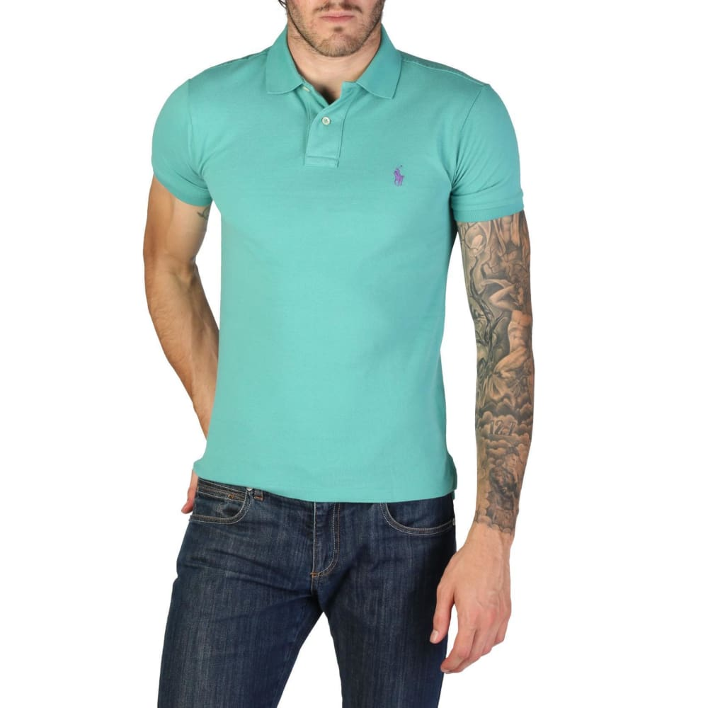 Ralph Lauren - 710651933042 - Clothing Polo - Green / S - Clothing Polo