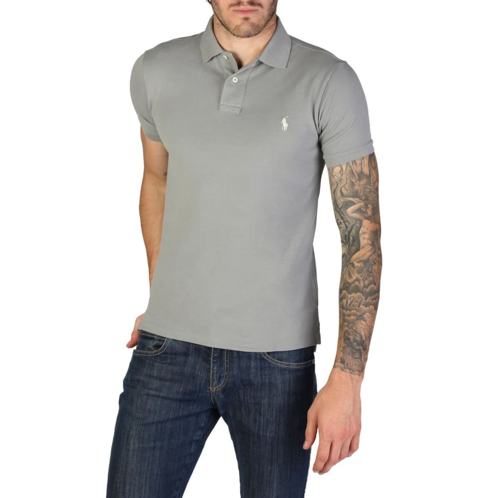 Ralph Lauren - 710651933042 - Clothing Polo - Grey / S - Clothing Polo