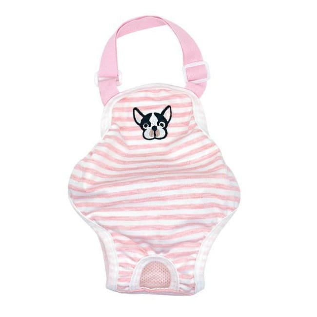 Sanitary Small Dog Panties - Pink / L - Dog Clothes