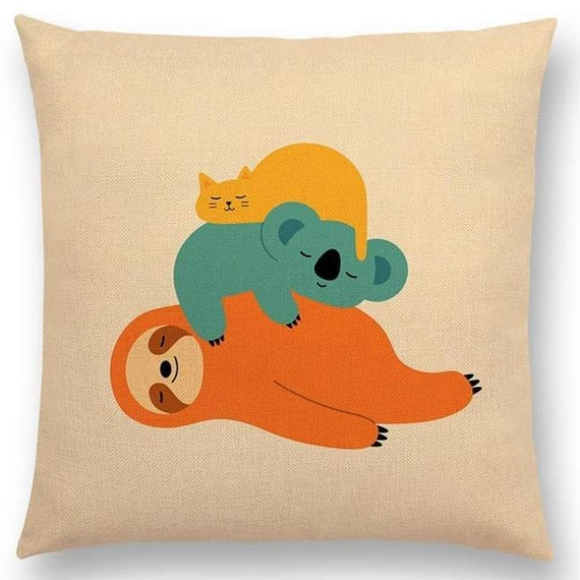 Scandi Retro Cushion Covers - A001306 / 45X45Cm No Filling - Home