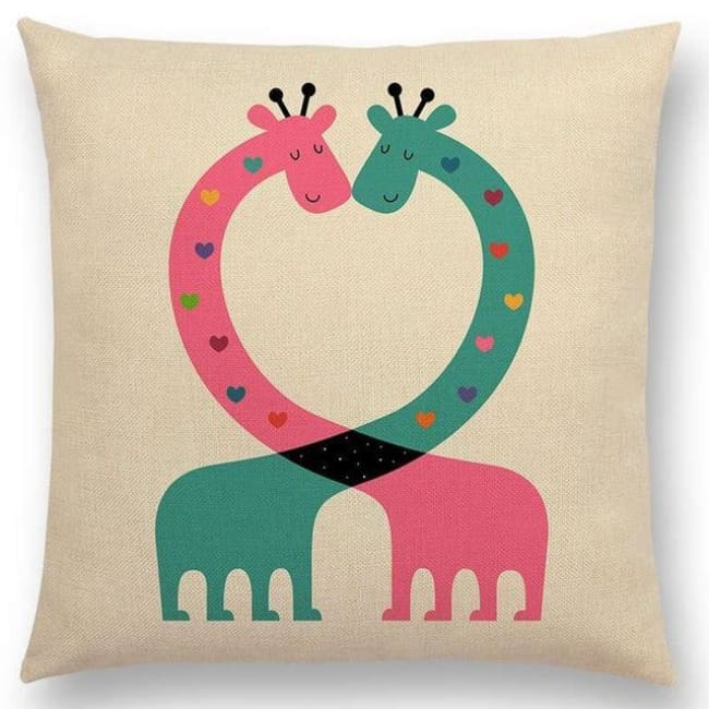 Scandi Retro Cushion Covers - A001313 / 45X45Cm No Filling - Home