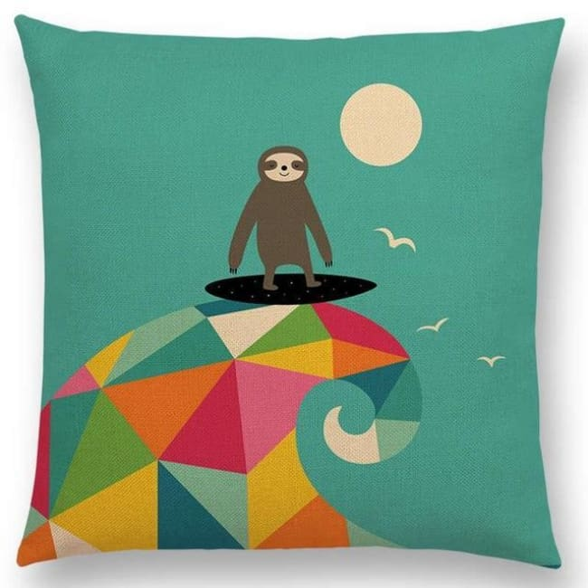 Scandi Retro Cushion Covers - A001324 / 45X45Cm No Filling - Home