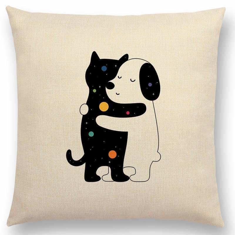 Scandi Retro Cushion Covers - Home