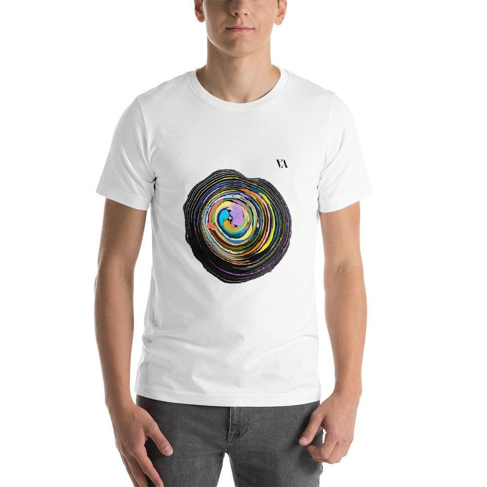 Shock Wave Short-Sleeve Mens T-Shirt - White / S - Tshirt