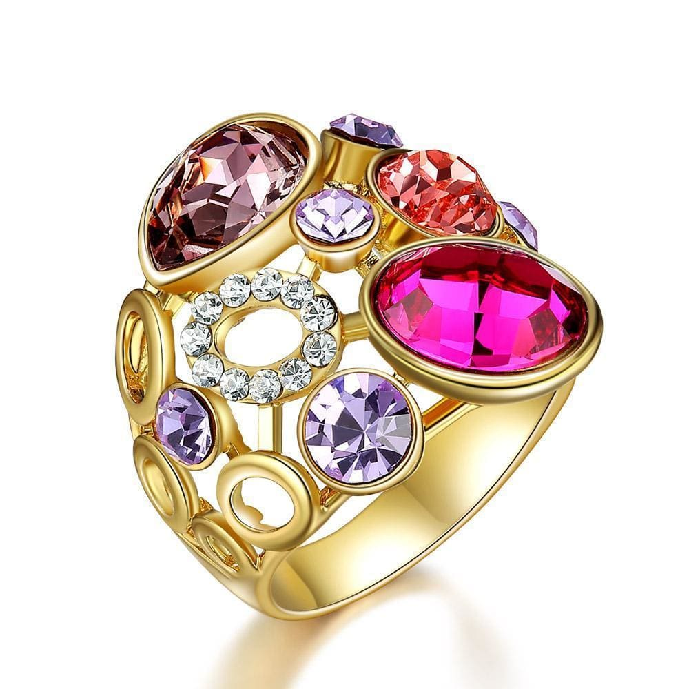 Sofia Classic Crystals Ring - Ring