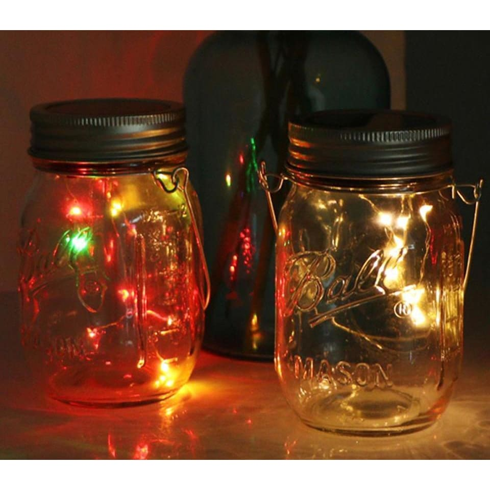 Solar Waterproof Jar Lamp - Lamp