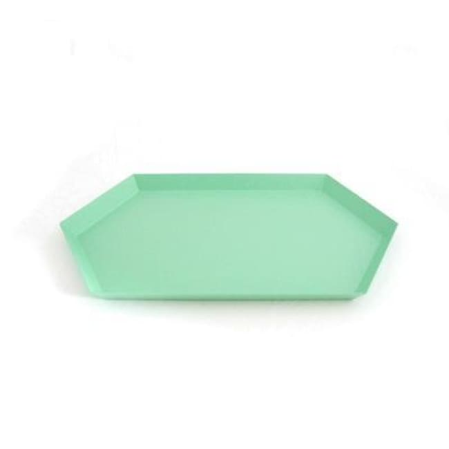 The Maze Nordic Trays - Green L - Trays