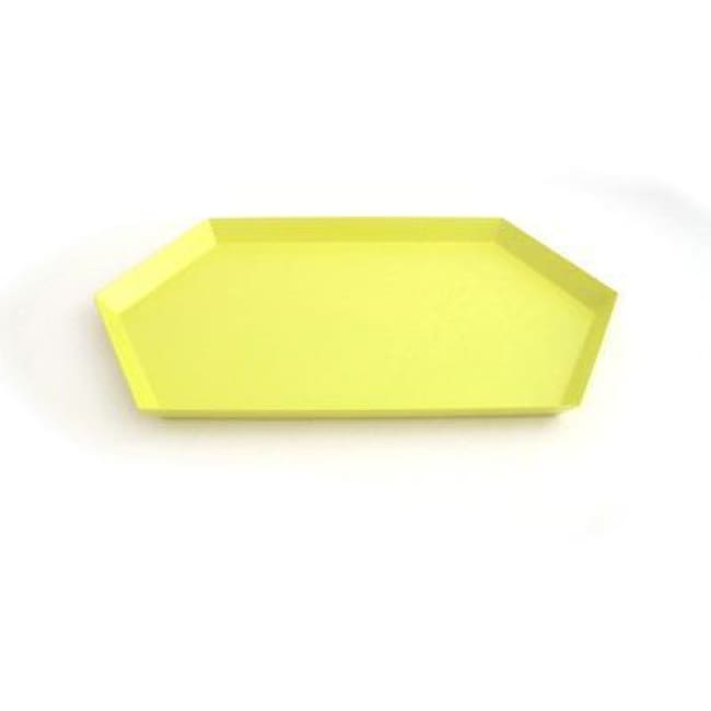 The Maze Nordic Trays - Yellow L - Trays