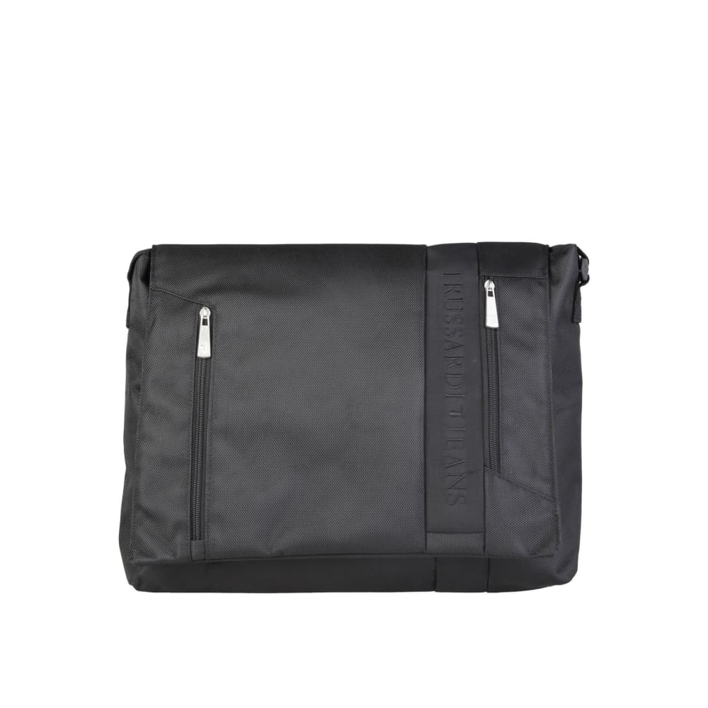 Trussardi Front Laptop Bag - Black / Nosize - Bags Briefcases