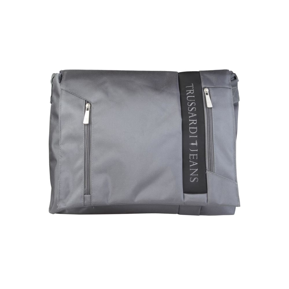 Trussardi Front Laptop Bag - Grey / Nosize - Bags Briefcases