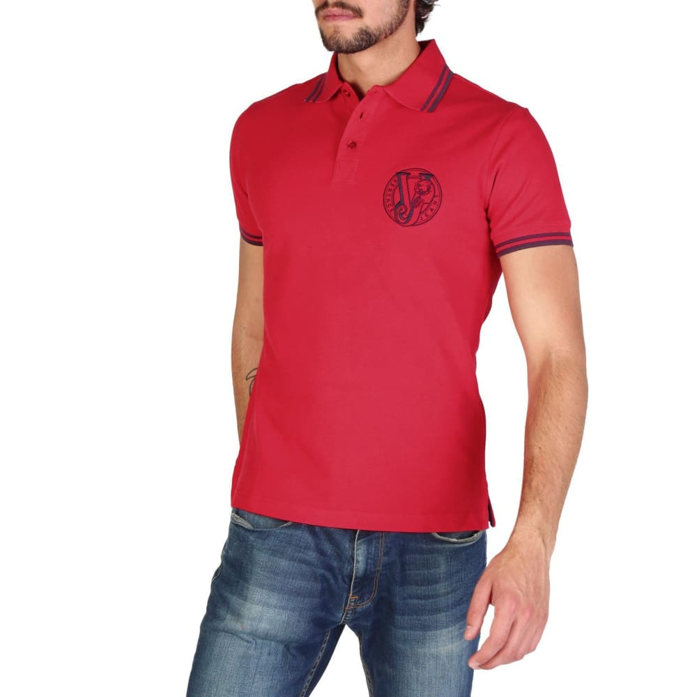 Versace Jeans - Clothing Polo - V105 - Red / 46 - Clothing Polo