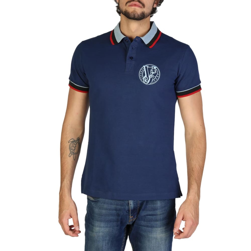 Versace Jeans - Clothing Polo V119 - Blue / 44 - Clothing Polo