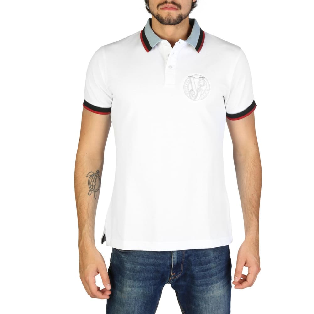 Versace Jeans - Clothing Polo V119 - White / 46 - Clothing Polo