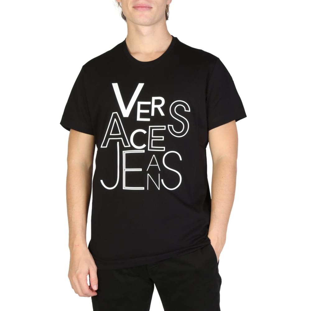 Versace Jeans - V906 - Black / S - Clothing T-Shirts