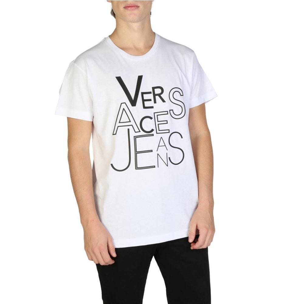 Versace Jeans - V906 - White / S - Clothing T-Shirts