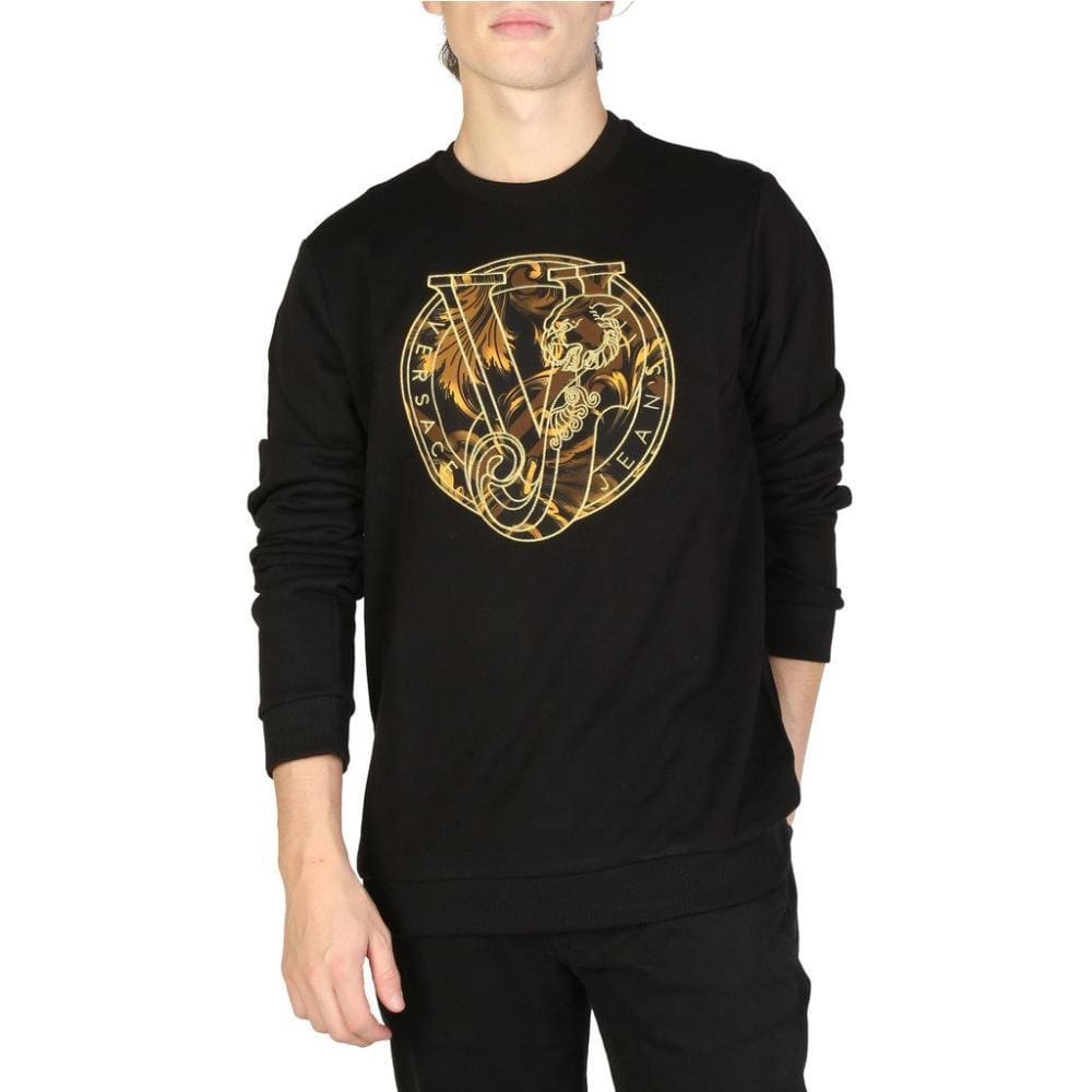 Versace Jeans - V908 - Black / S - Clothing Sweatshirts
