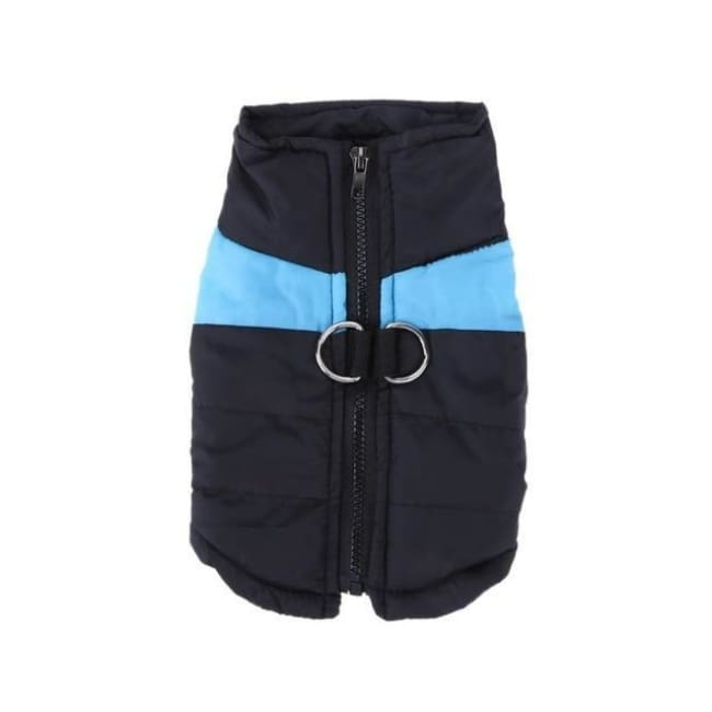 Waterproof Down Vest - Blue / S - Dog Clothes