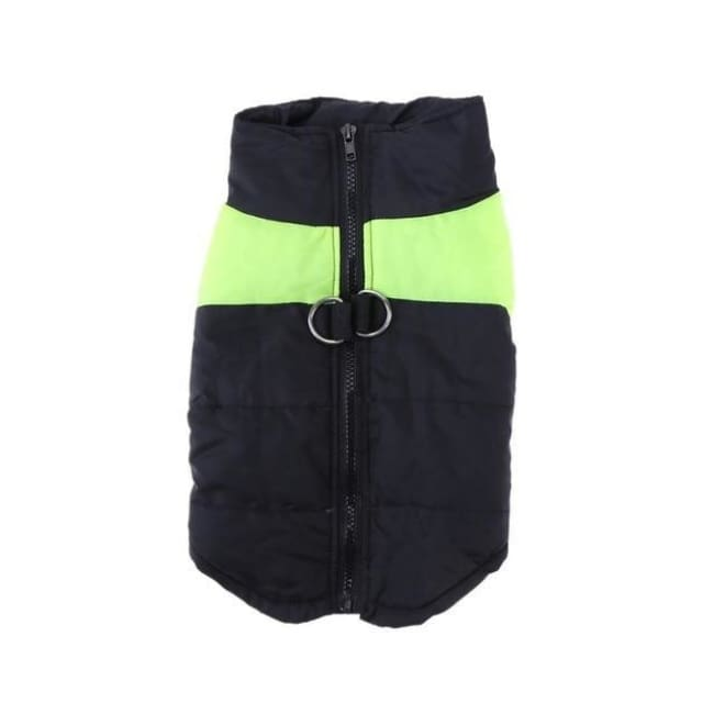 Waterproof Down Vest - Green / S - Dog Clothes